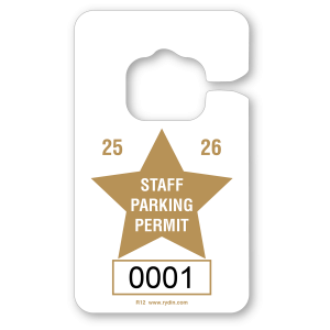 R-12 Vertical Hang Tag