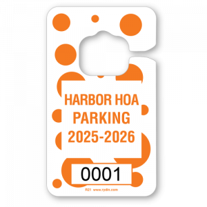 R-21 Vertical Hang Tag