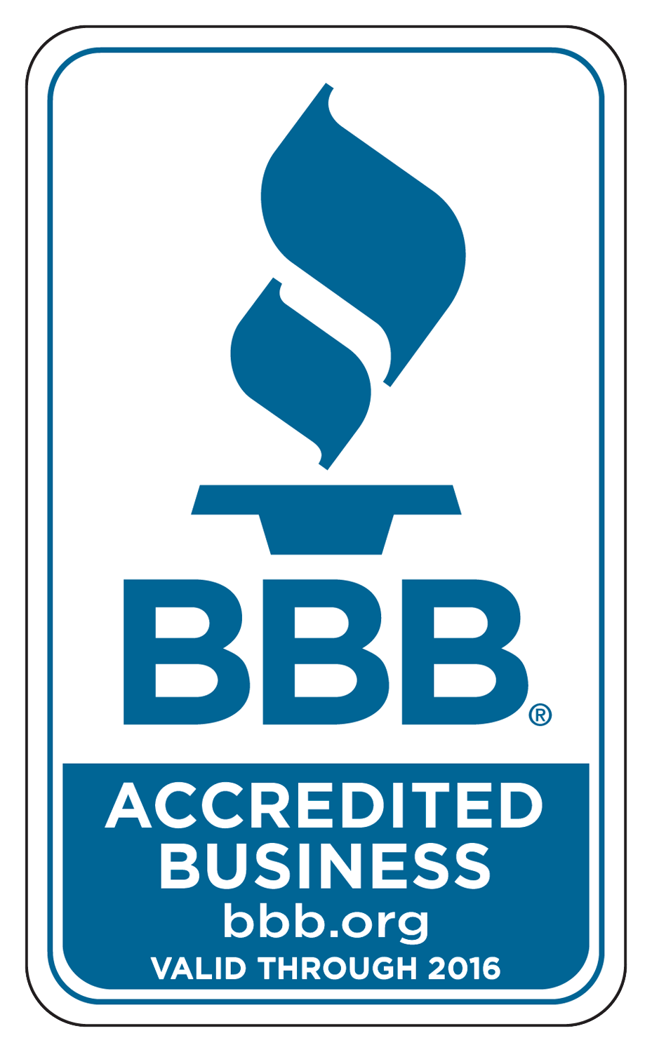 Better Business Bureau Decals