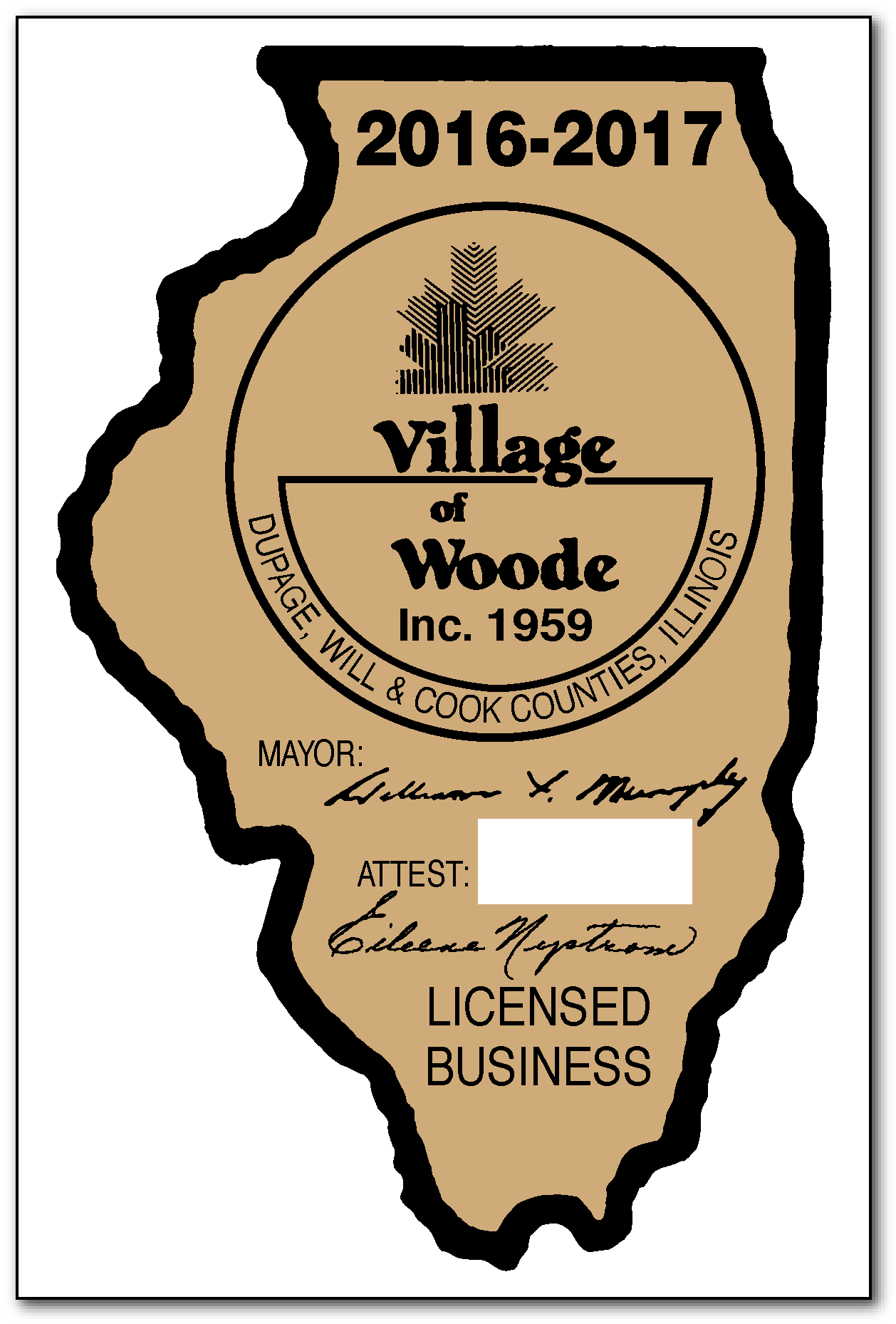 Business Permit Decals