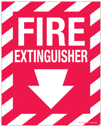 Fire Safety Decals