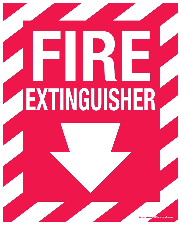 Fire Safety Decals