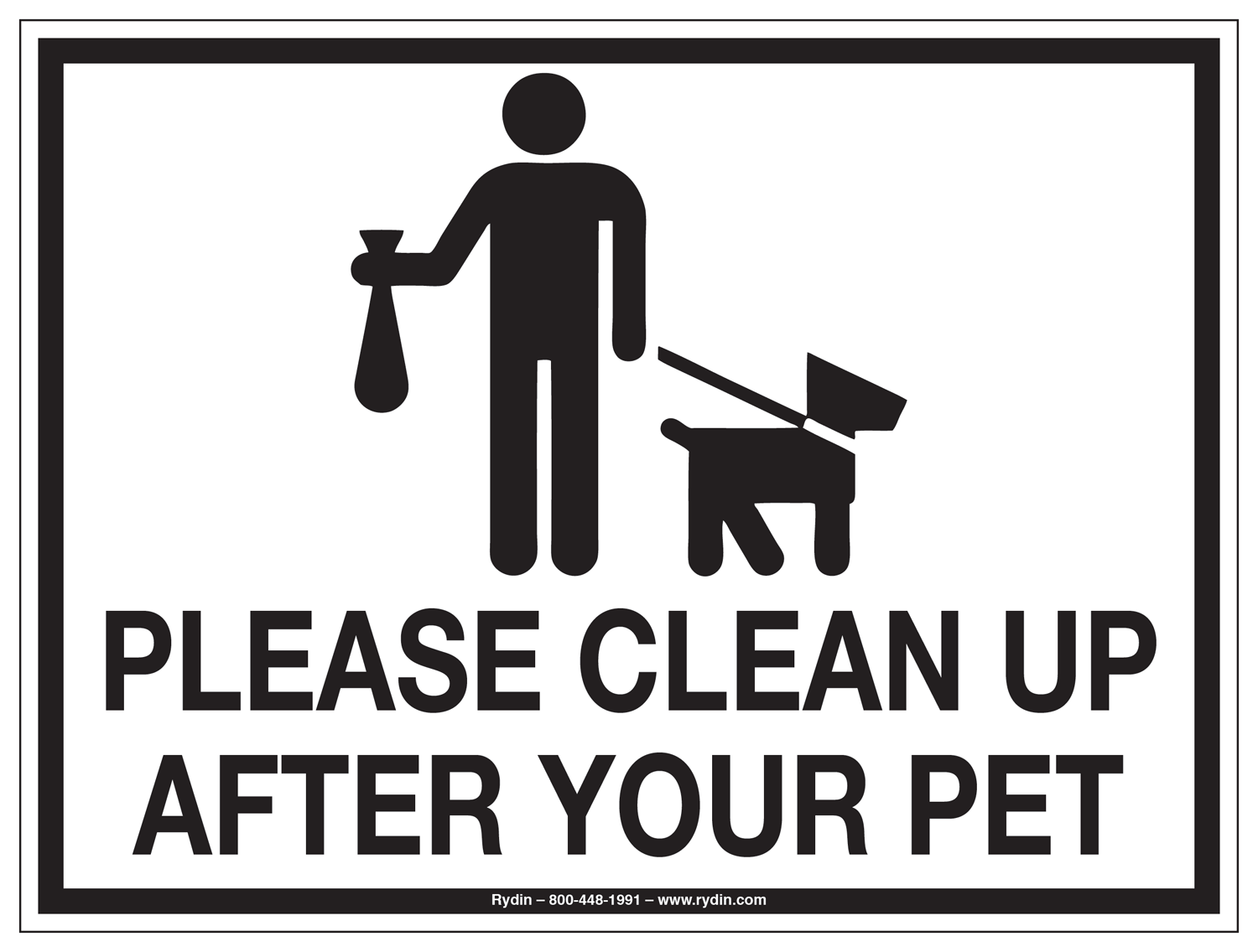 Pet Waste Decals