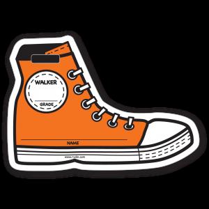 Stock Orange Walker Backpack Tag