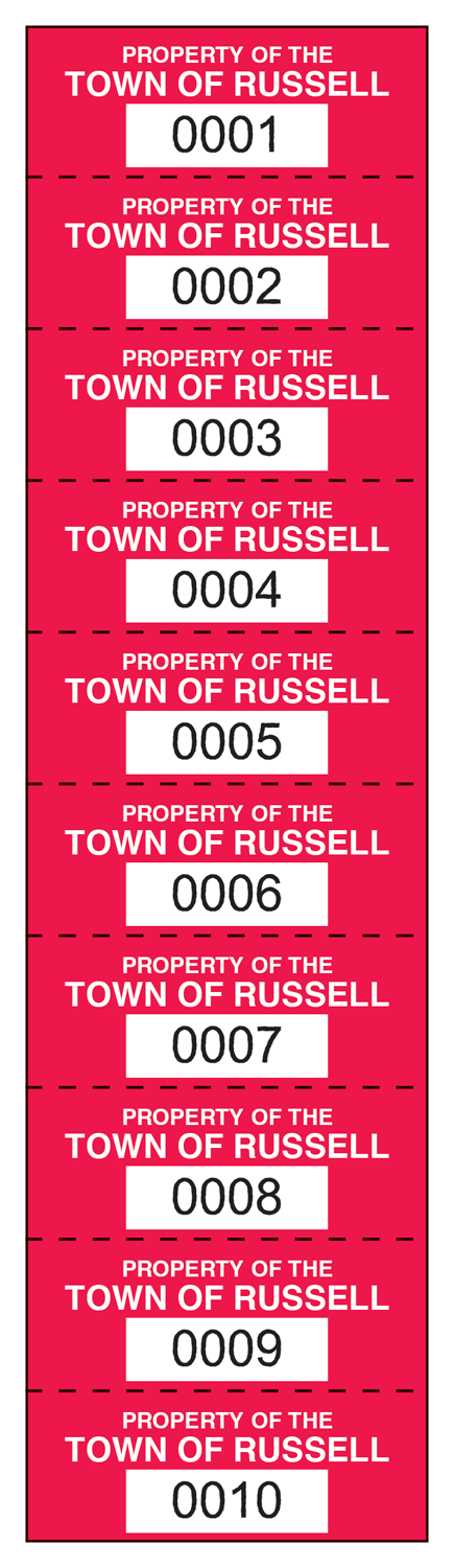 Property Identification Labels