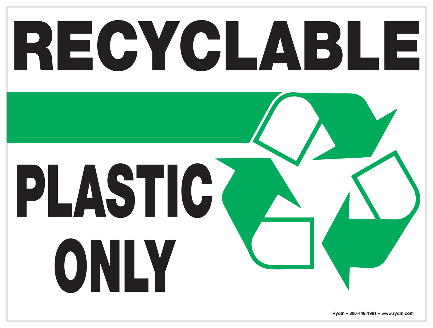 Recycling/ Waste Management Decals