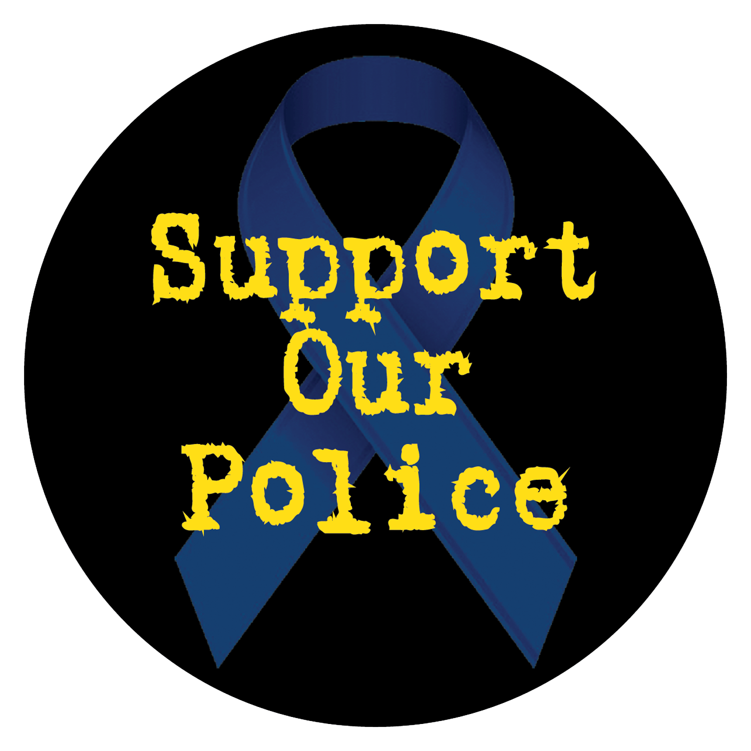 Support Your Police Decals