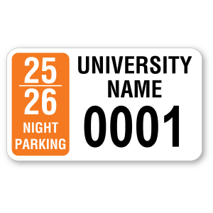R-226 Rectangle Decal