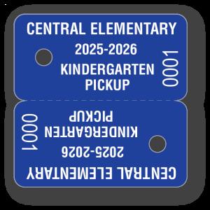 KEY-01 Parent Pickup Key Tag