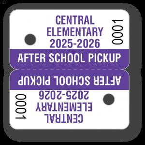 KEY-03 Parent Pickup Key Tag