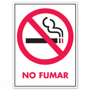 Stock No Fumar Decal