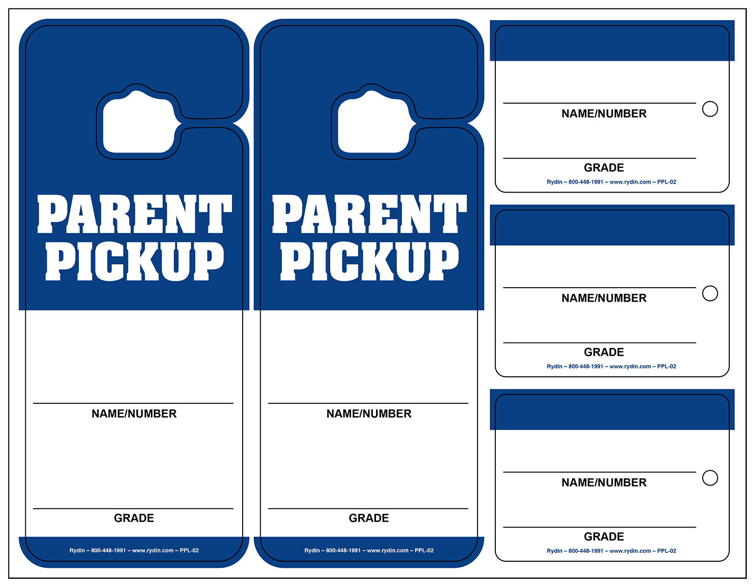 image regarding Printable Backpack Tags named Motor vehicle Rider Mum or dad Pick out Up Tags Archives -